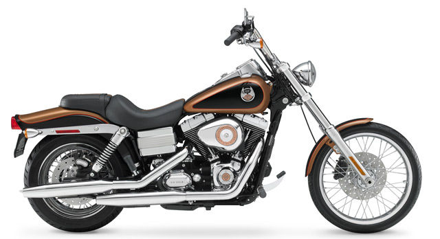 Harley's Dyna Wide Glide